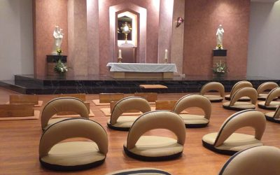 Pembukaan kembali Kapel Adorasi