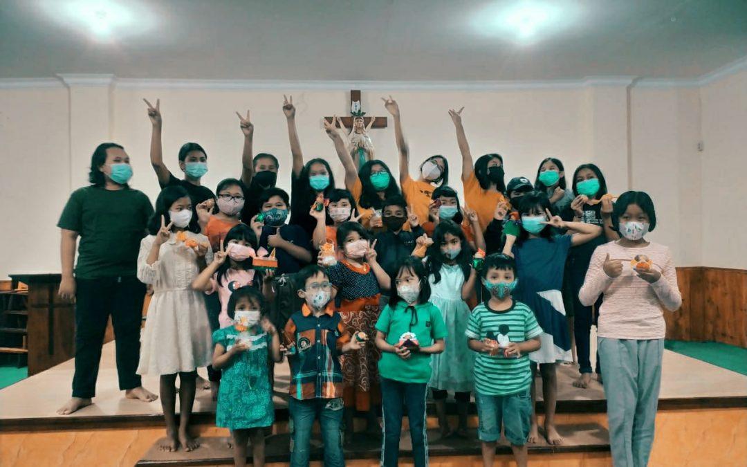 Gembira dan Bahagia Anak-anak Landungsari Merayakan Paskah