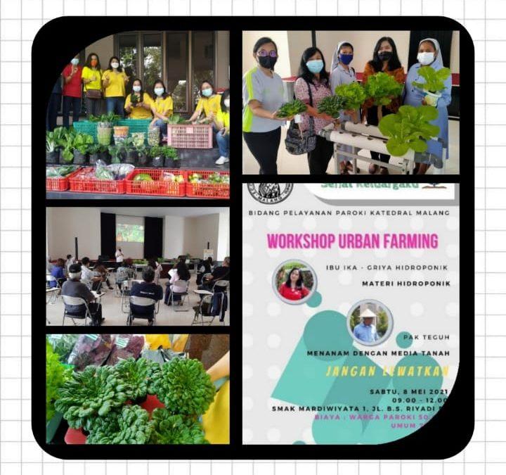 WORKSHOP URBAN FARMING PAROKI IJEN