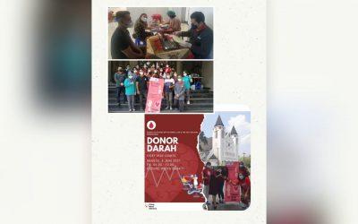 Kegiatan Donor Darah Paroki Ijen