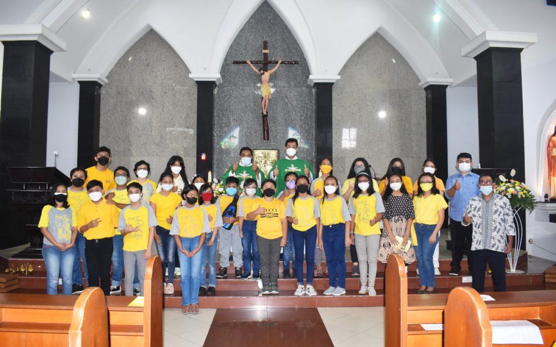 Misa Penutupan BKSN Remaka Sedekenat Kota Malang